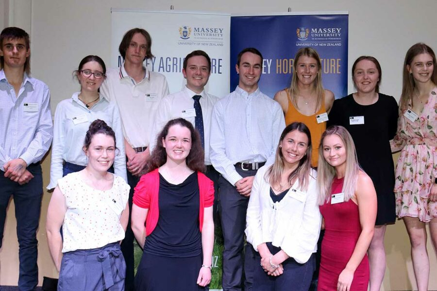 Massey agri, horticulture students recognised
