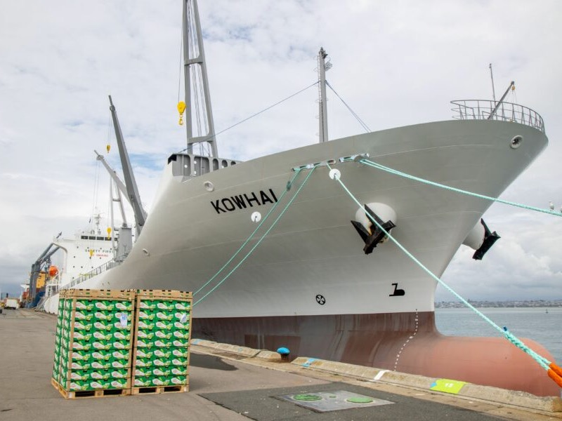 Zespri adds trio of ships with Fresh Carriers investment