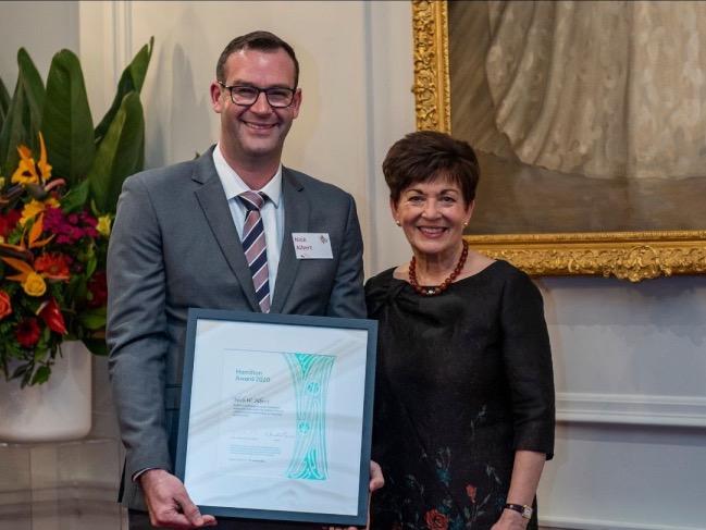 Scientist scoops fruit development award