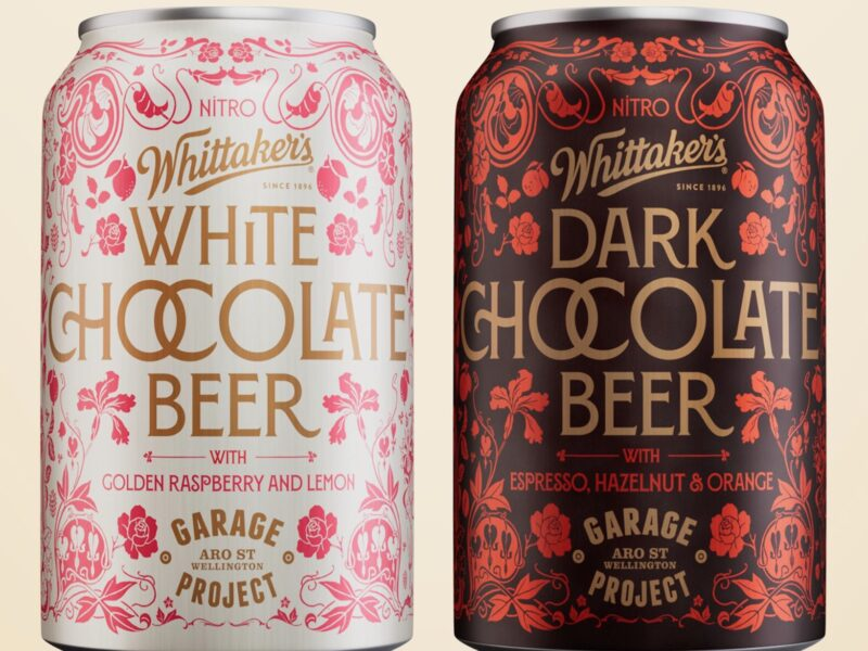 Whittakers, Garage Project unveil new collaboration