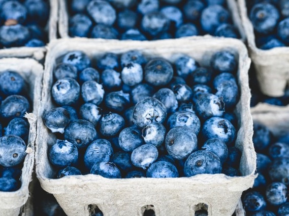 Record blueberry consumption after 15.2% jump