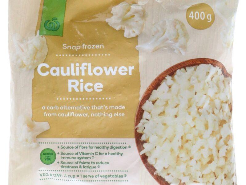 Woolworths recalls batch of Snap Frozen Cauliflower Rice