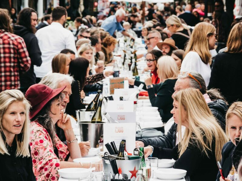 300+ sit down for first Queenstown Long Lunch