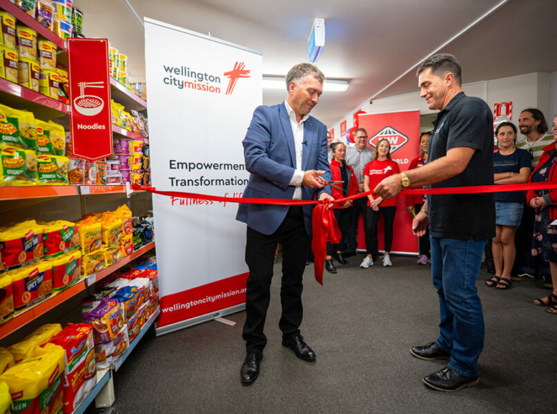 City Mission opens new social supermarket