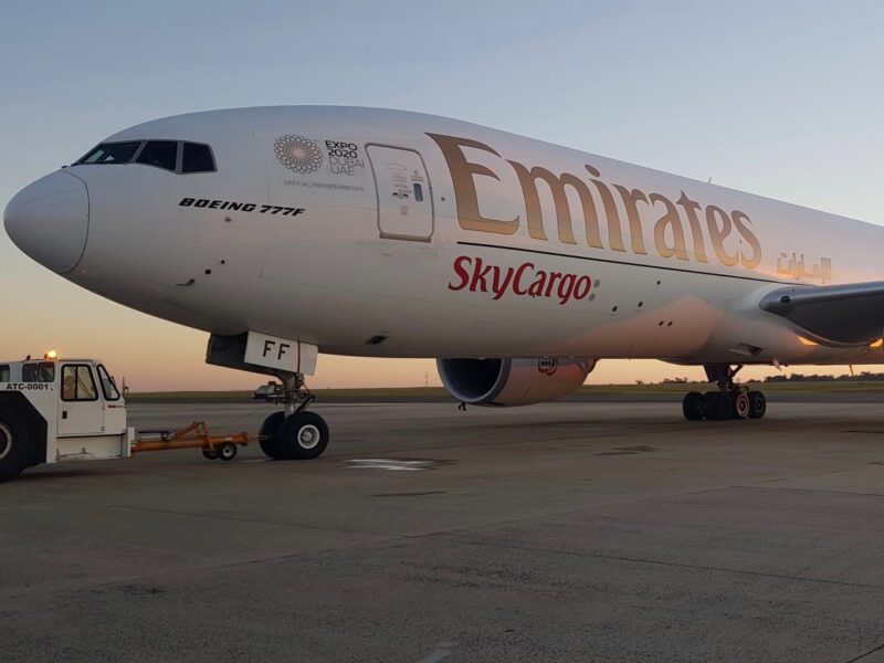 Food comprises 50% of Emirates SkyCargo's 2020 load