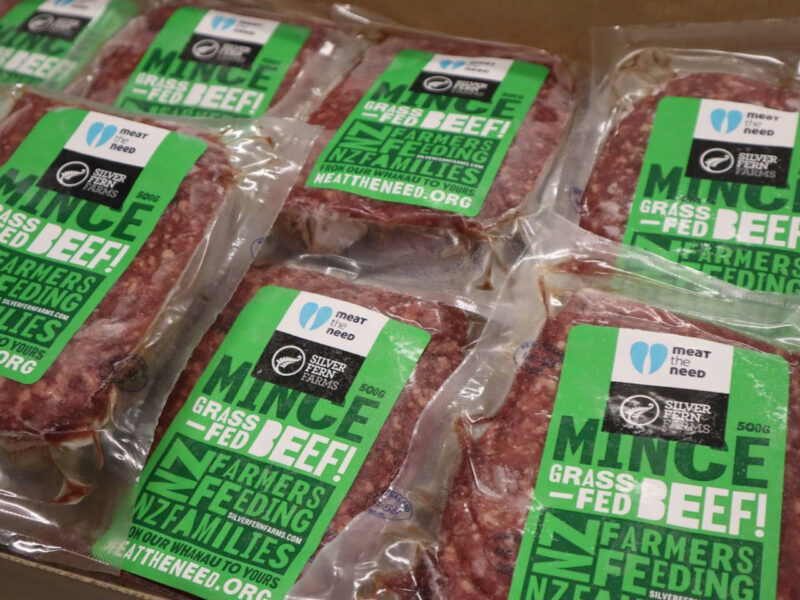 SFF: Charity delivers 410k red meat meals
