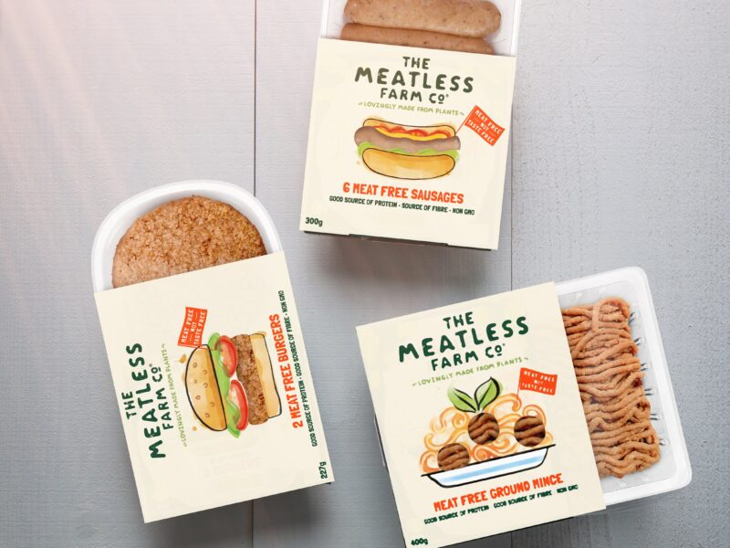 UK's Meatless Farm marches on NZ market