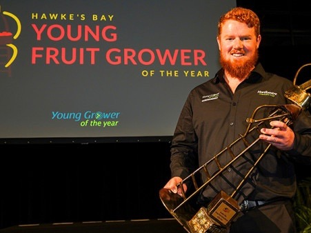 Young fruitgrower of the year makes it a double