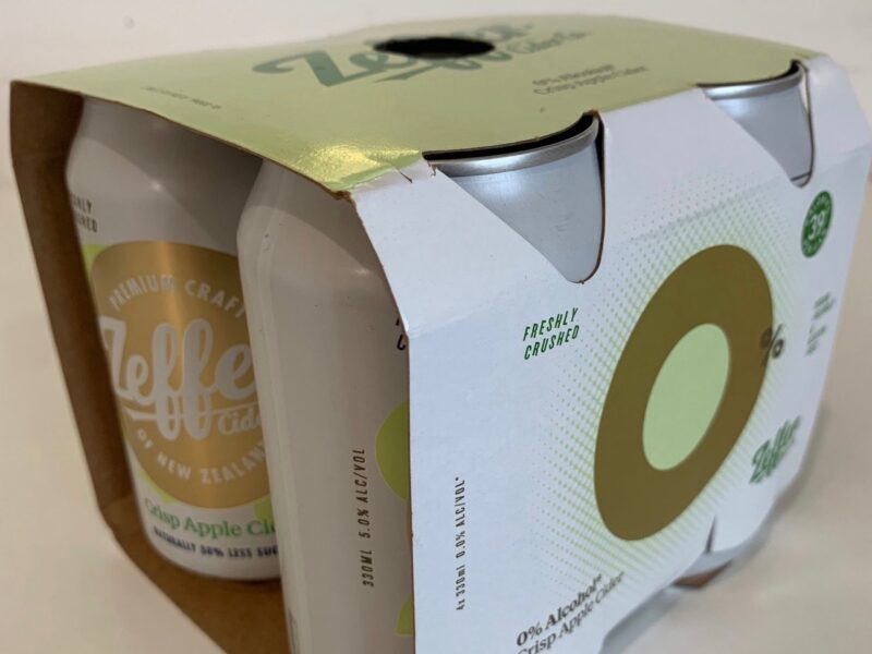 Zeffer apologises for packaging mix-up