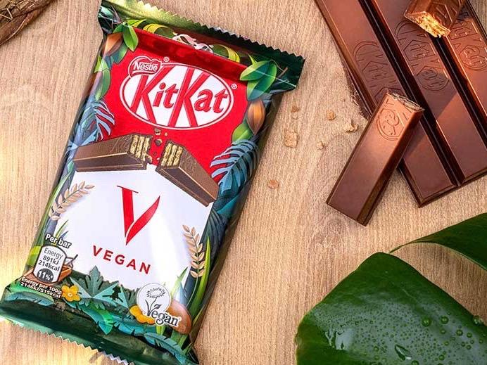 Nestlé breaks out plant-based KitKat